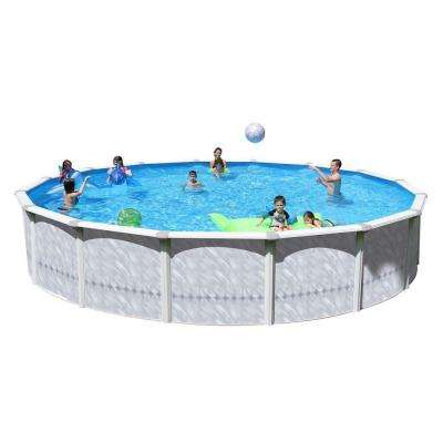 Taos 24 ft. x 52 in. Round Pool Package