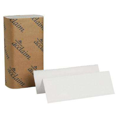 Acclaim White Multi-Fold Paper Towels (4000 Sheets)