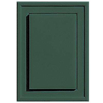 4.5 in. x 6.3125 in. #028 Forest Green Raised Mini Mounting Block