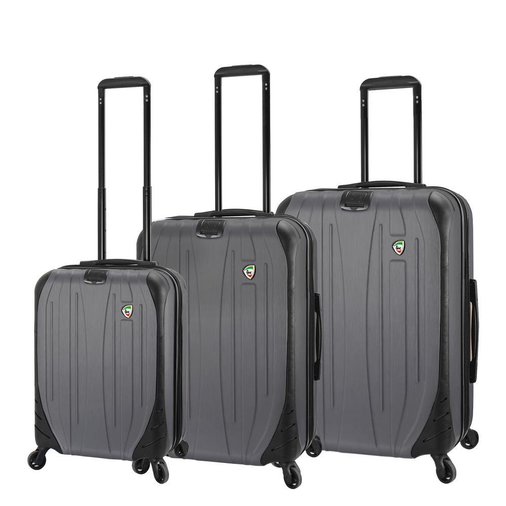 Compaz 3-Piece Titanium Hardside Spinner Luggage Set