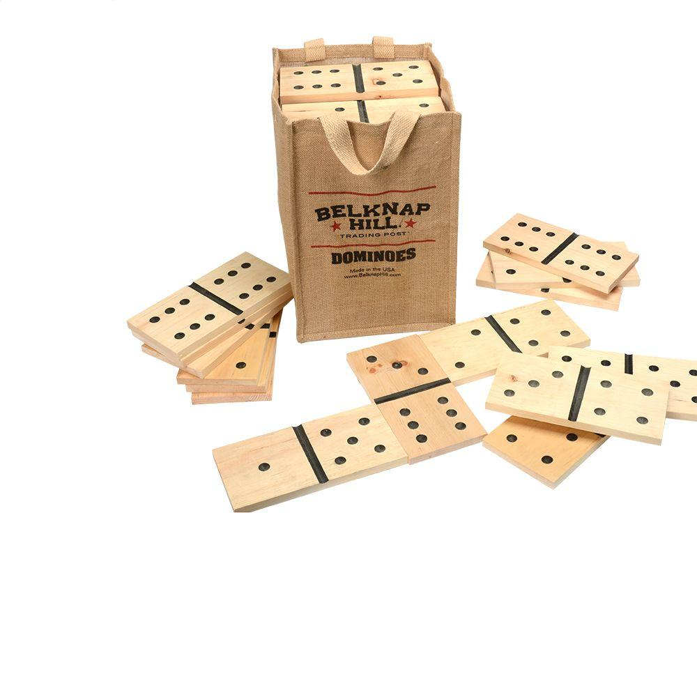 Belknap Hill Trading Post Dominoes Game Kit