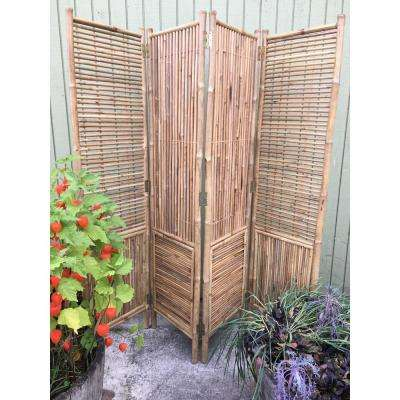Bamboo Room Dividers Home Accents The Home Depot