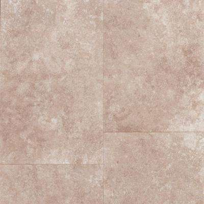 Take Home Sample - Travertine Tile-Grey Laminate Flooring - 5 in. x 7 in.