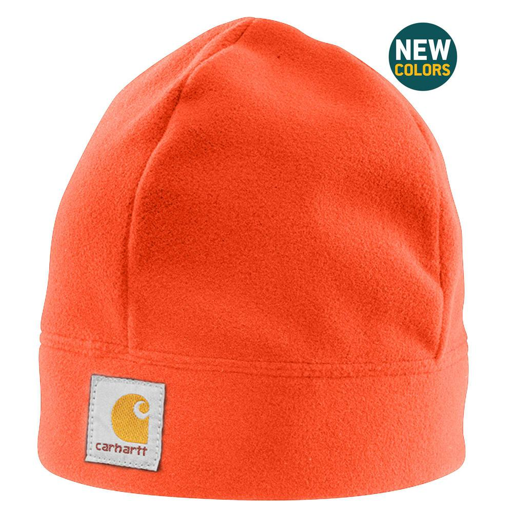 313cf26c05d Carhartt Men s OFA Hunter Orange Polyester Fleece Hat-A207-822 - The ...