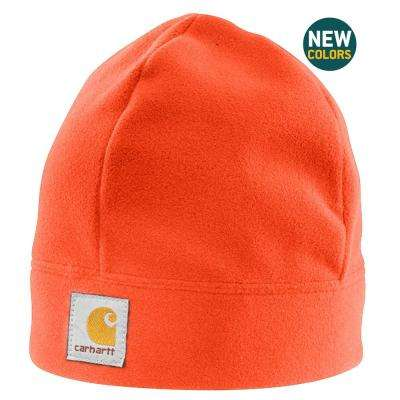 Men's OFA Hunter Orange Polyester Fleece Hat