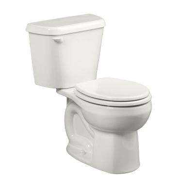 Colony 2-Piece 1.6 GPF Round Toilet in White