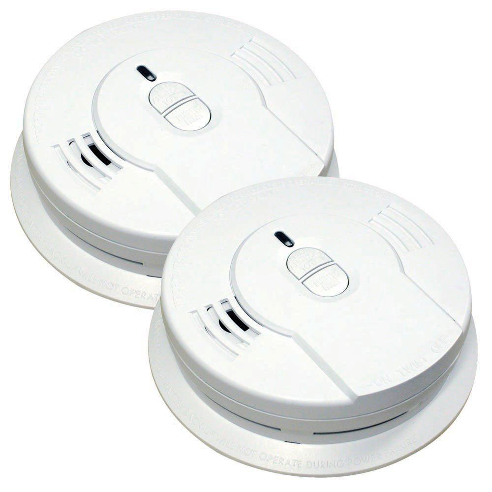Code One 10-Year Sealed Battery Smoke Detector with Ionization Sensor (2-pack)