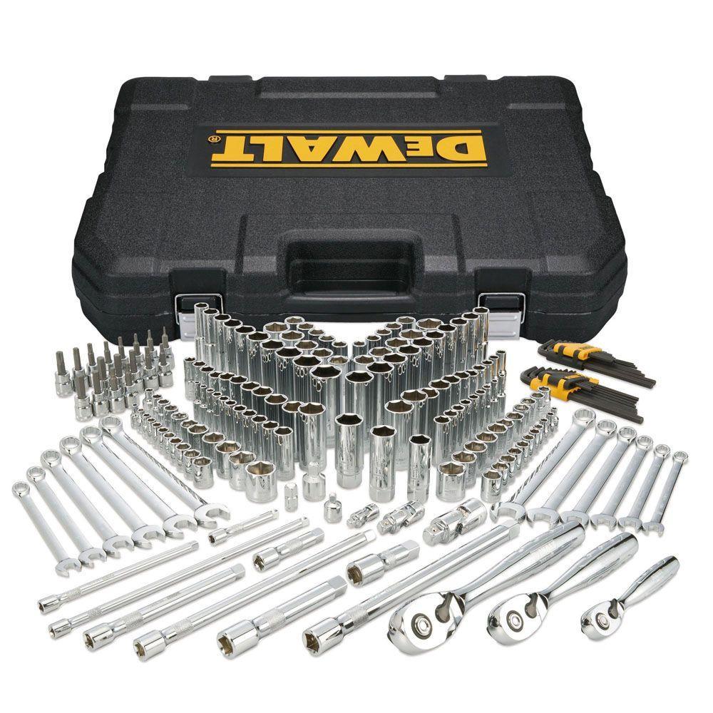 dewalt mechanics tool set 204 piece dwmt72165 the home depot. Black Bedroom Furniture Sets. Home Design Ideas