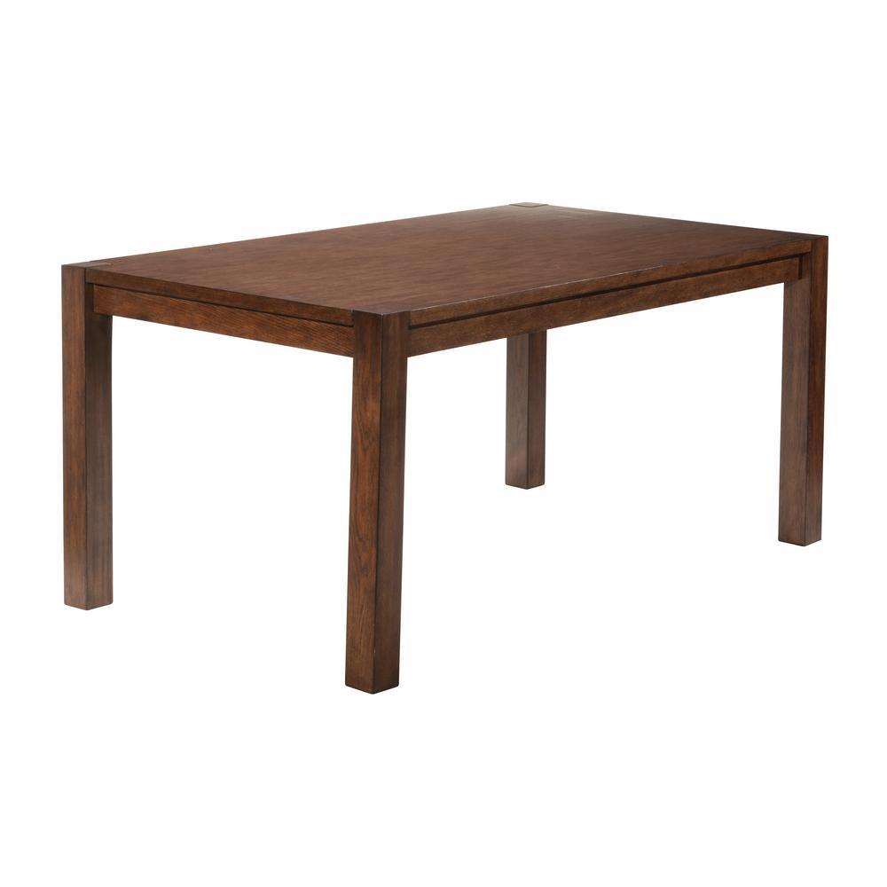 Chandler Dark Oak Dining Table