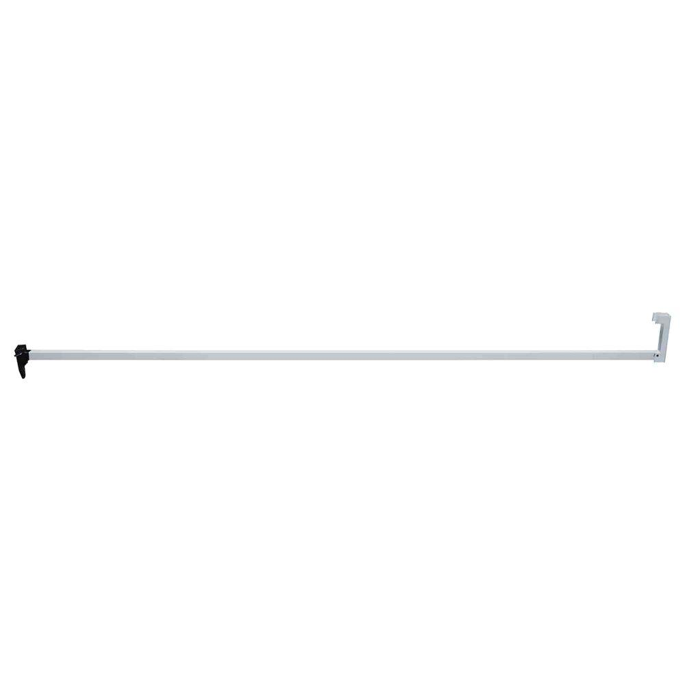 Prime-Line 48 in. Aluminum Finish Patio Door Security Bar