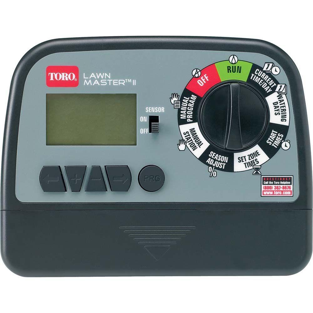 Toro Lawn Master Ii 4 Zone Sprinkler Timer 53805 The