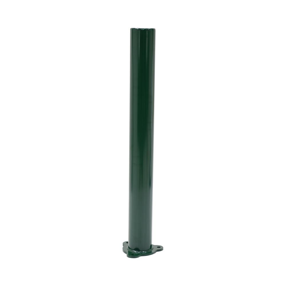 Vestil 42 in  x 4 5 in  Dia Dark Green Architectural Bollard