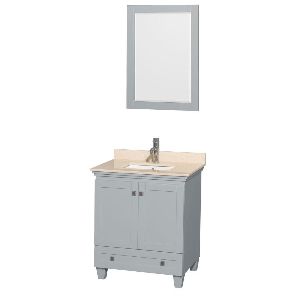 Acclaim 30 in. W x 22 in. D Vanity in Oyster