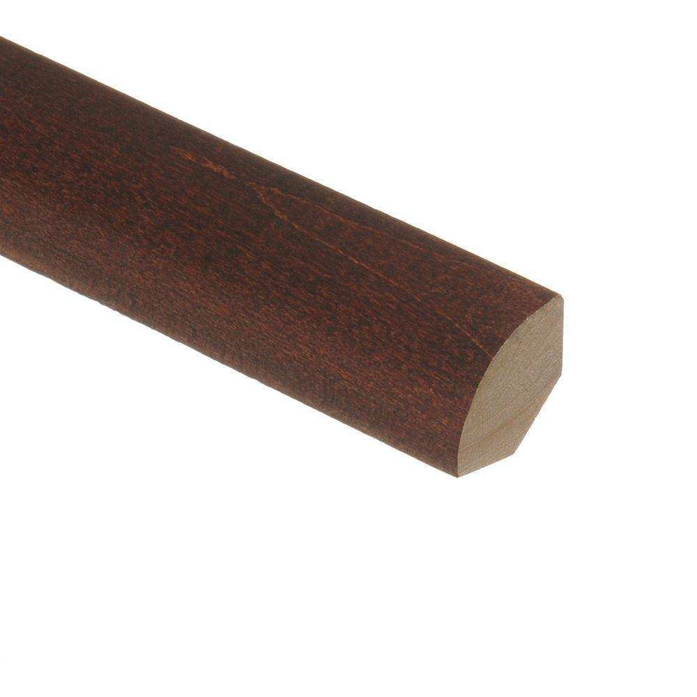 Zamma Moroccan Walnut 3/4 in. Thick x 3/4 in. Wide x 94 in. Length Wood Quarter Round Molding