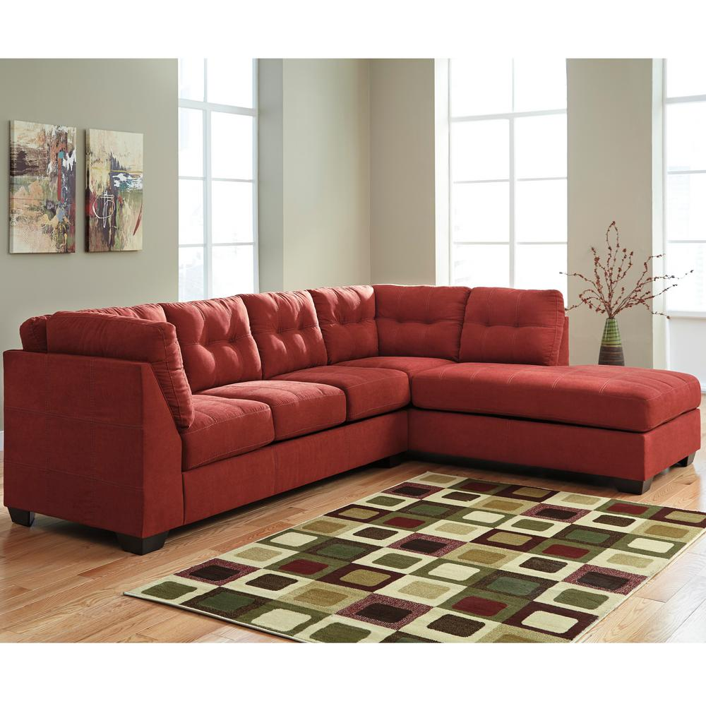 Flash Furniture Benchcraft Maier Sienna Microfiber Sectional with