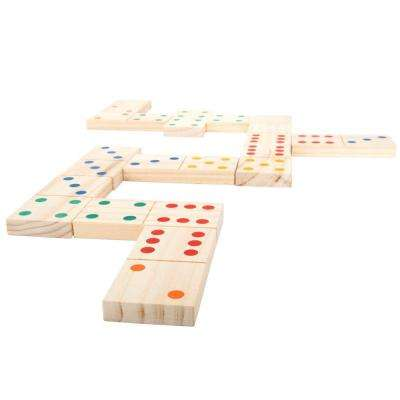 Giant Wooden Dominoes Set