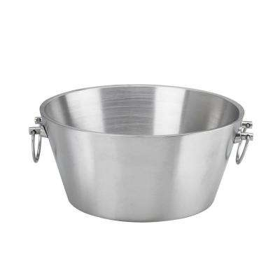 15 in. Insulated Stainless Steel Party Tub