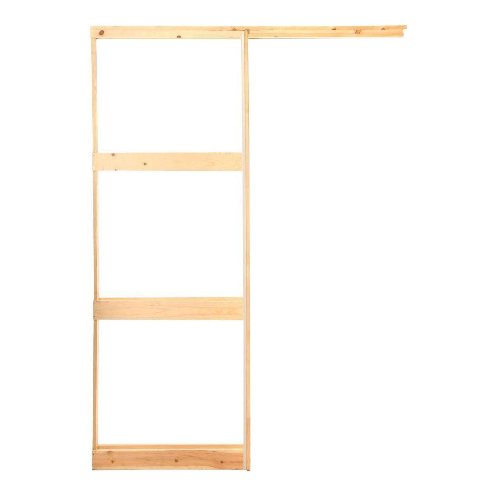 Henry Pocket Frames 28 In Wood Pocket Door Frame Standard