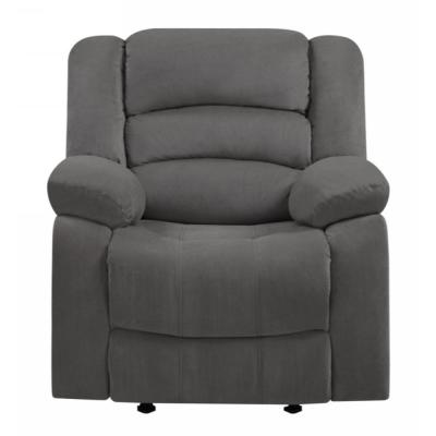 Charlie Gray Armrests Media Chair