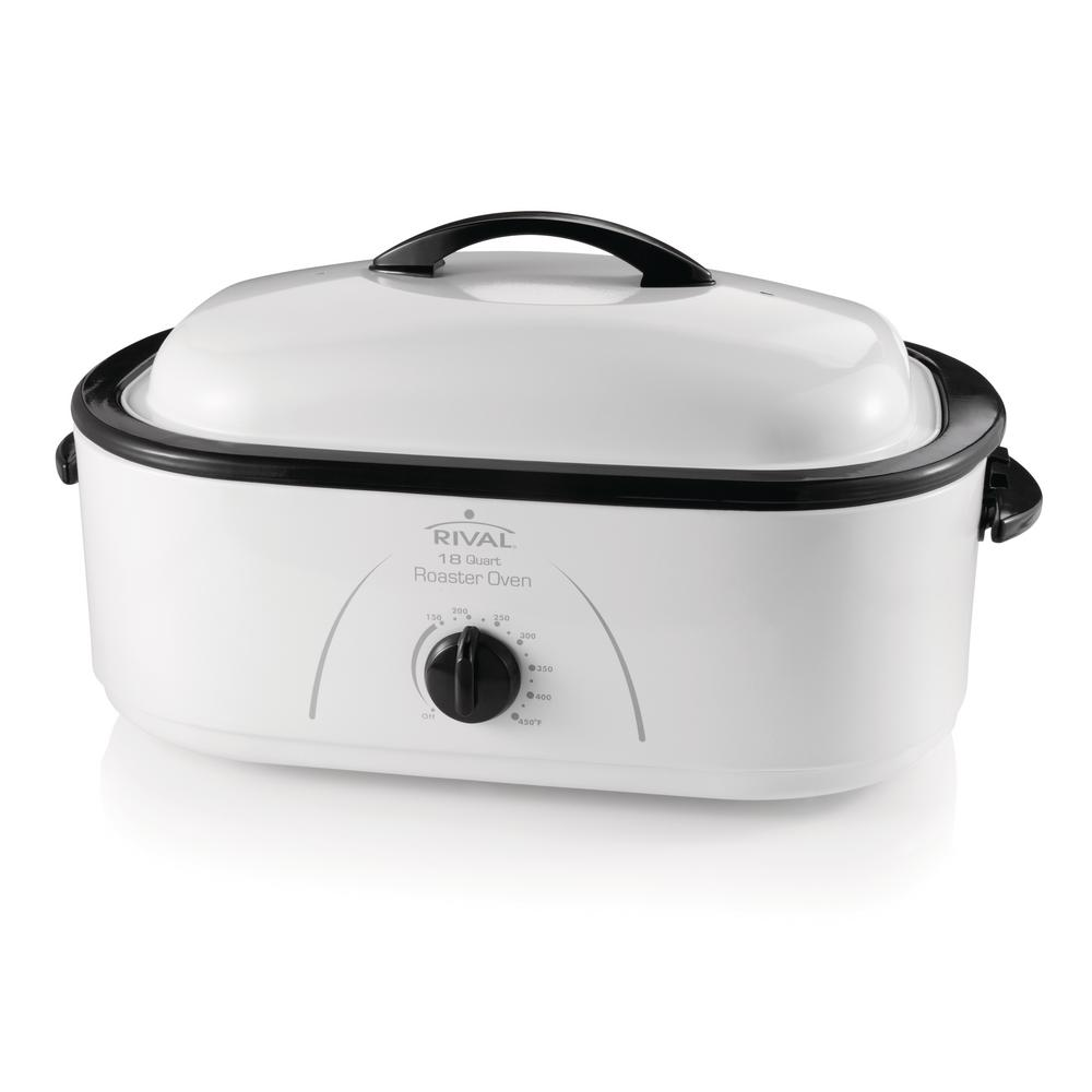 rival 18 qt roaster oven ro180 the home depot rh homedepot com Rival Food Chopper Rival Food Chopper
