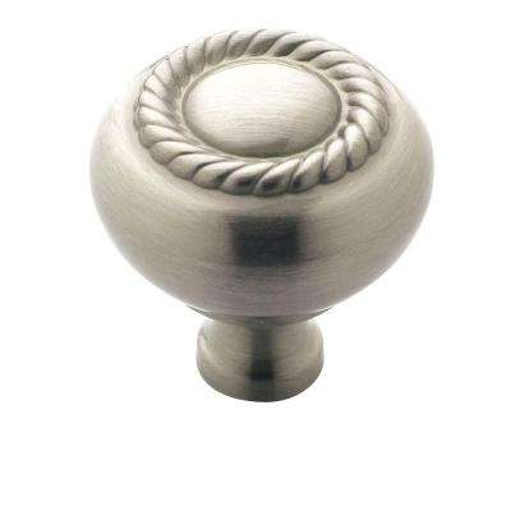 1-1/4 in. Satin Nickel Cabinet Knob