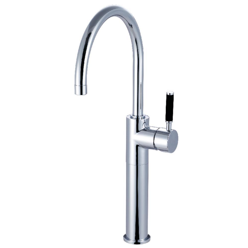 Kaiser Single Hole Single-Handle Bathroom Faucet in Chrome