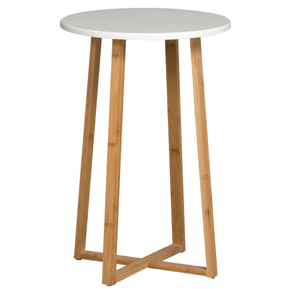 Eccostyle White Tall Display Table Cbbft0013wm The Home