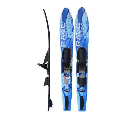 7 in. Adult Rhyme Shaped Combo Water Skis