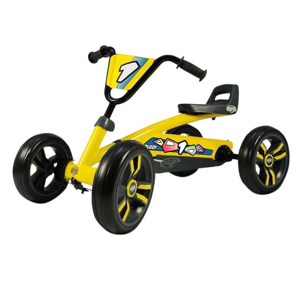 BERG Buzzy Pedal Cart, Yellows/Golds