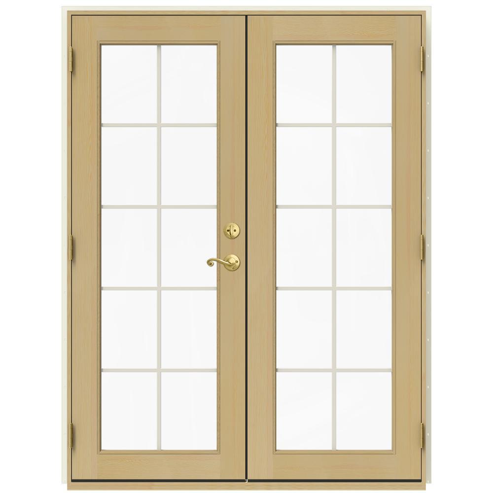 60 x 80 - JELD-WEN - French Patio Door - Patio Doors - Exterior ...