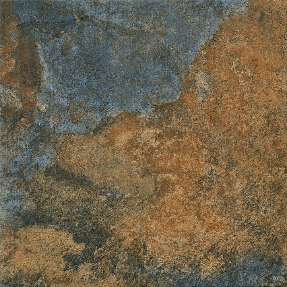 Florida Tile Home Collection Hematite Autumn 12 in. x 12 in ...