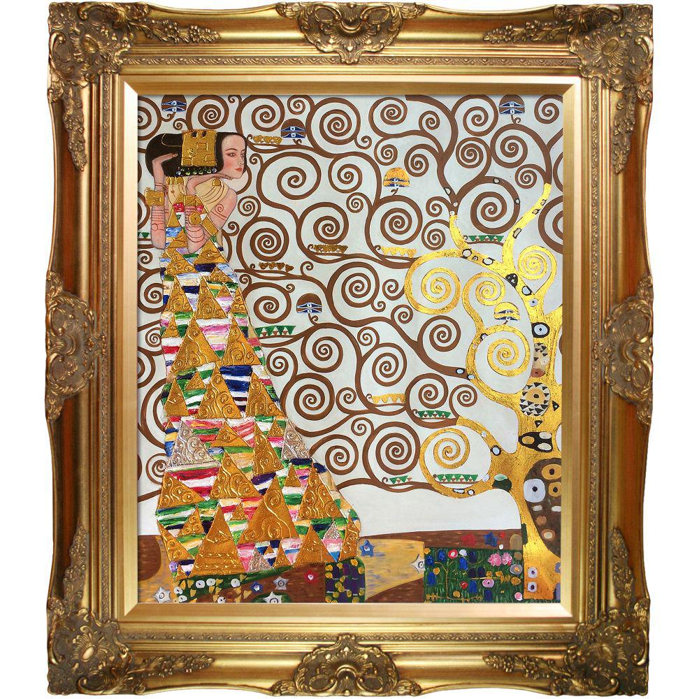LA PASTICHE Expectation (Luxury Line) with Victorian Gold Frameby Gustav Klimt Oil Painting, Multi-Colored was $821.0 now $439.23 (47.0% off)