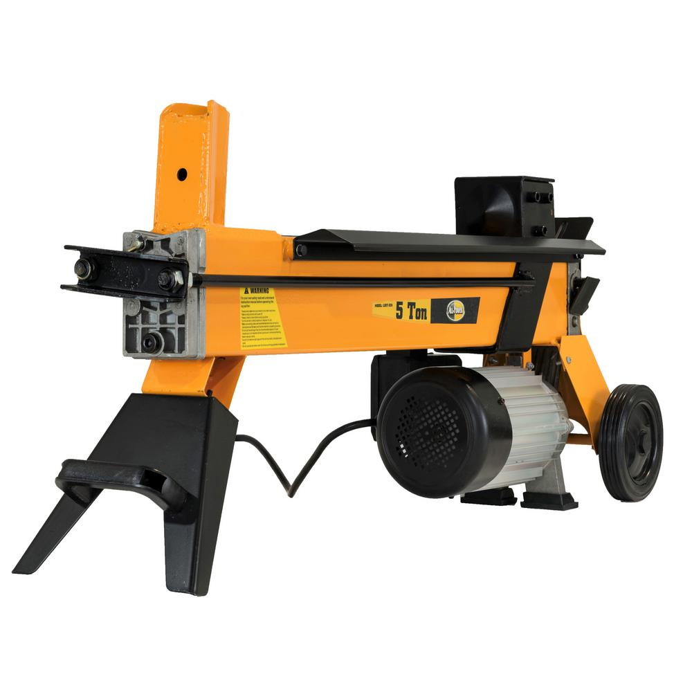 All Power 5-Ton 15 Amp Electric Log Splitter with Wheels LS5T-52A