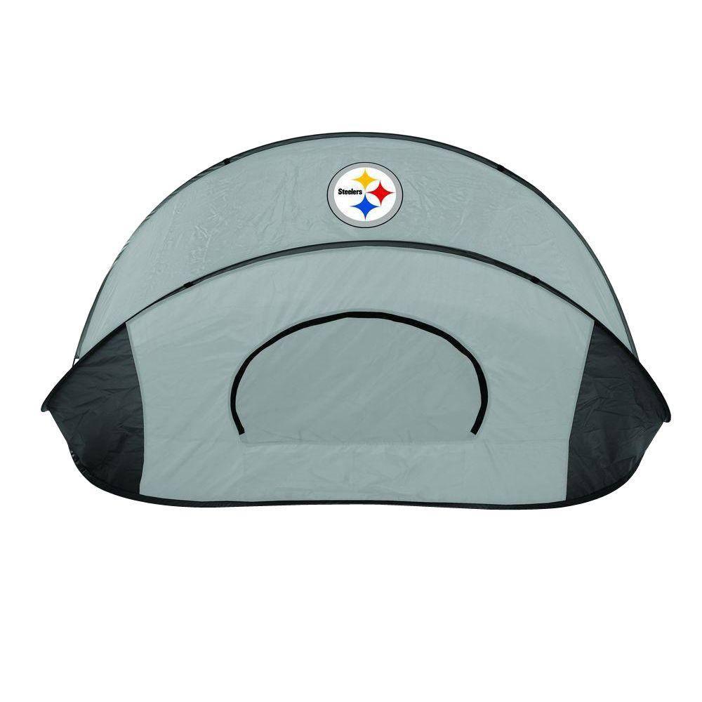 Picnic Time Pittsburgh Steelers Manta Sun Shelter Tent