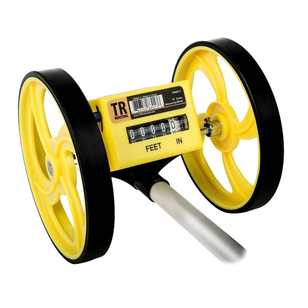 TR Industrial 6 in. Aluminum Collapsible Measuring Wheel