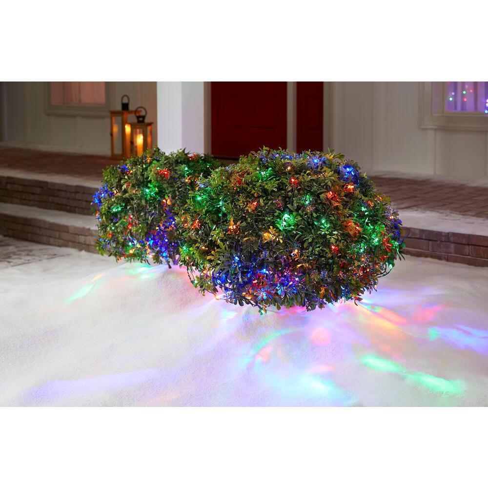 4 ft. x 6 ft. 150-Light LED Multi-Color Net Light