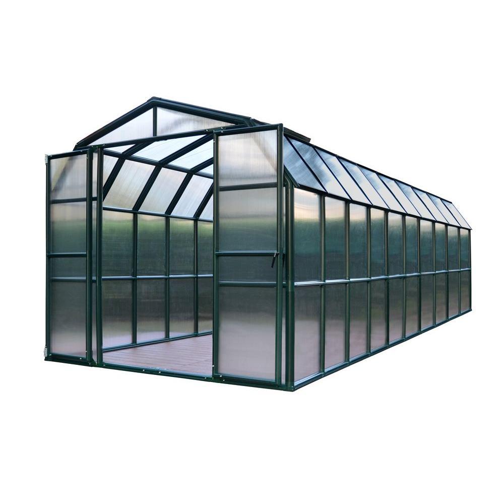 Rion Grand Gardener 8 ft. x 20 ft. Opaque Greenhouse