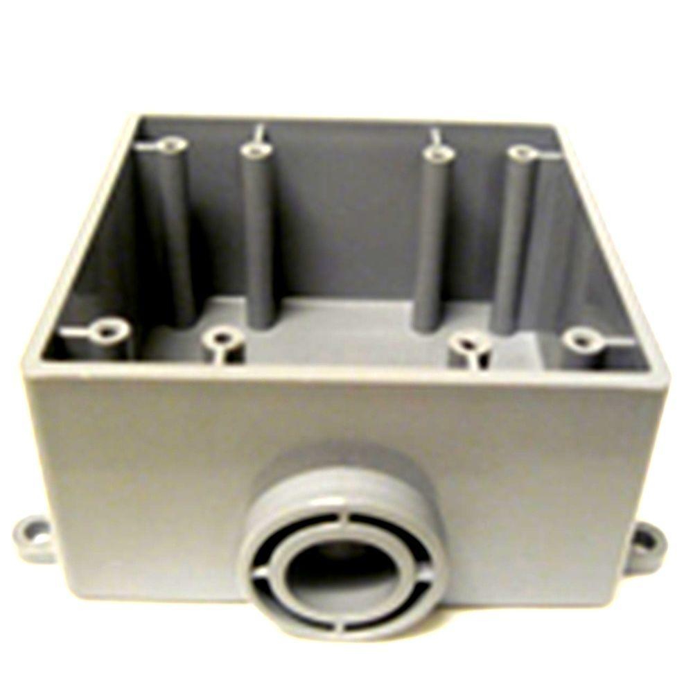 2-Gang FSE Electrical Box-R5133382 - The Home Depot