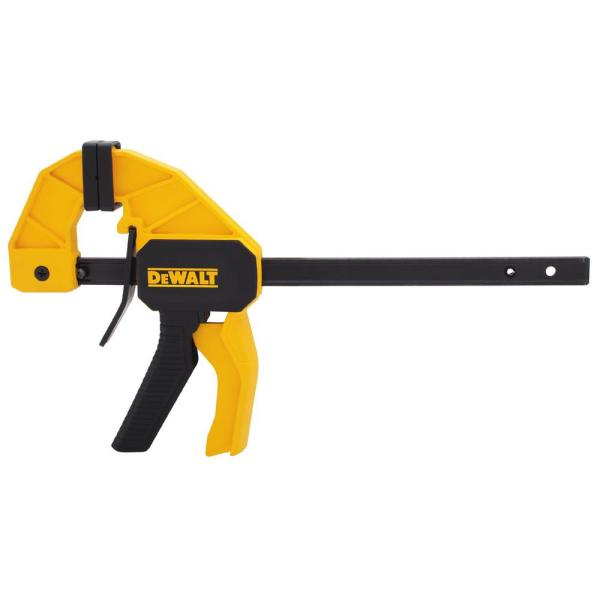 6 in. 100 lbs. Trigger Clamp with 2.43 in. Throat Depth
