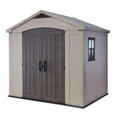Factor 8 ft. x 6 ft. Outdoor Storage Shed