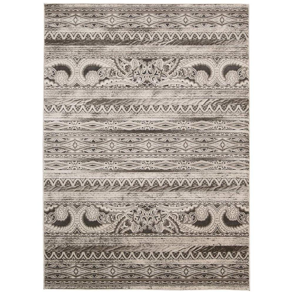 Karma Beige 5 ft. 3 in. x 7 ft. 4 in.