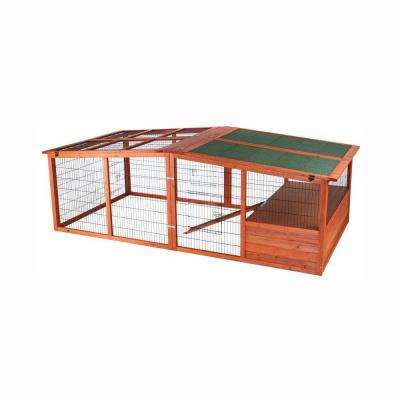 7.9 ft. x 3.8 ft. x 2.6 ft. Extra-Large Outdoor Enclosure with Mesh Cover Run