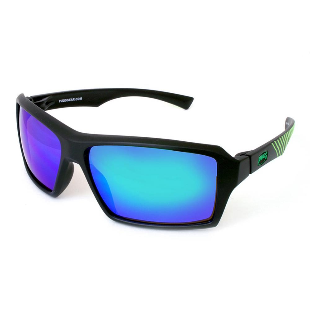 eb8b1cbff2 Unisex TR90 Squared Full Frame Style with Polycarbonate Decentered Lens  Sunglass