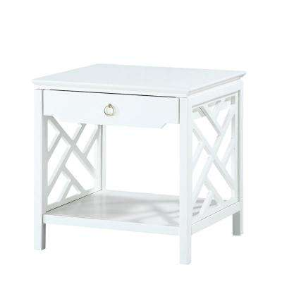 Thomas White Chippendale-Style End Table