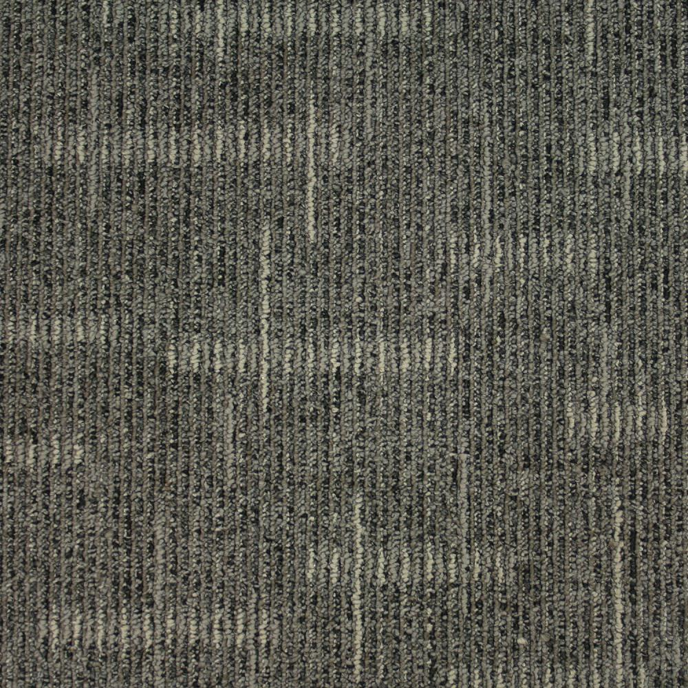 Simply Comfort Boardwalk Loop 19.7 in. x 19.7 in. Carpet Tile