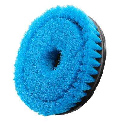 6 in. Soft Bristle Brush Accessory for RYOBI P4500 and P4510 Scrubber Tools
