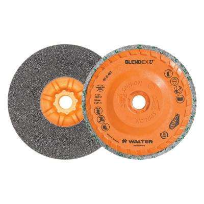Blendex U 4.5 in. x 5/8 in.-11 in. Cup Disc (Pack of 5)