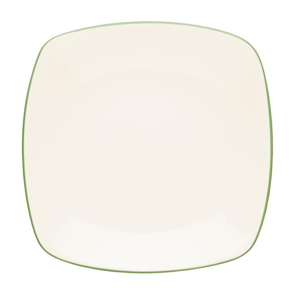 Noritake Colorwave 10.75 in. Apple Square Dinner Plate