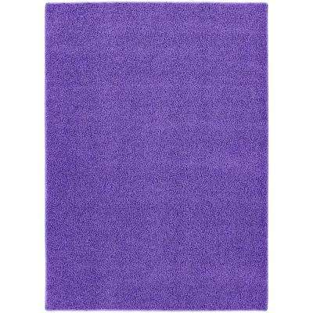 Shazaam Purple Vogue 5 ft. x 8 ft. Area Rug