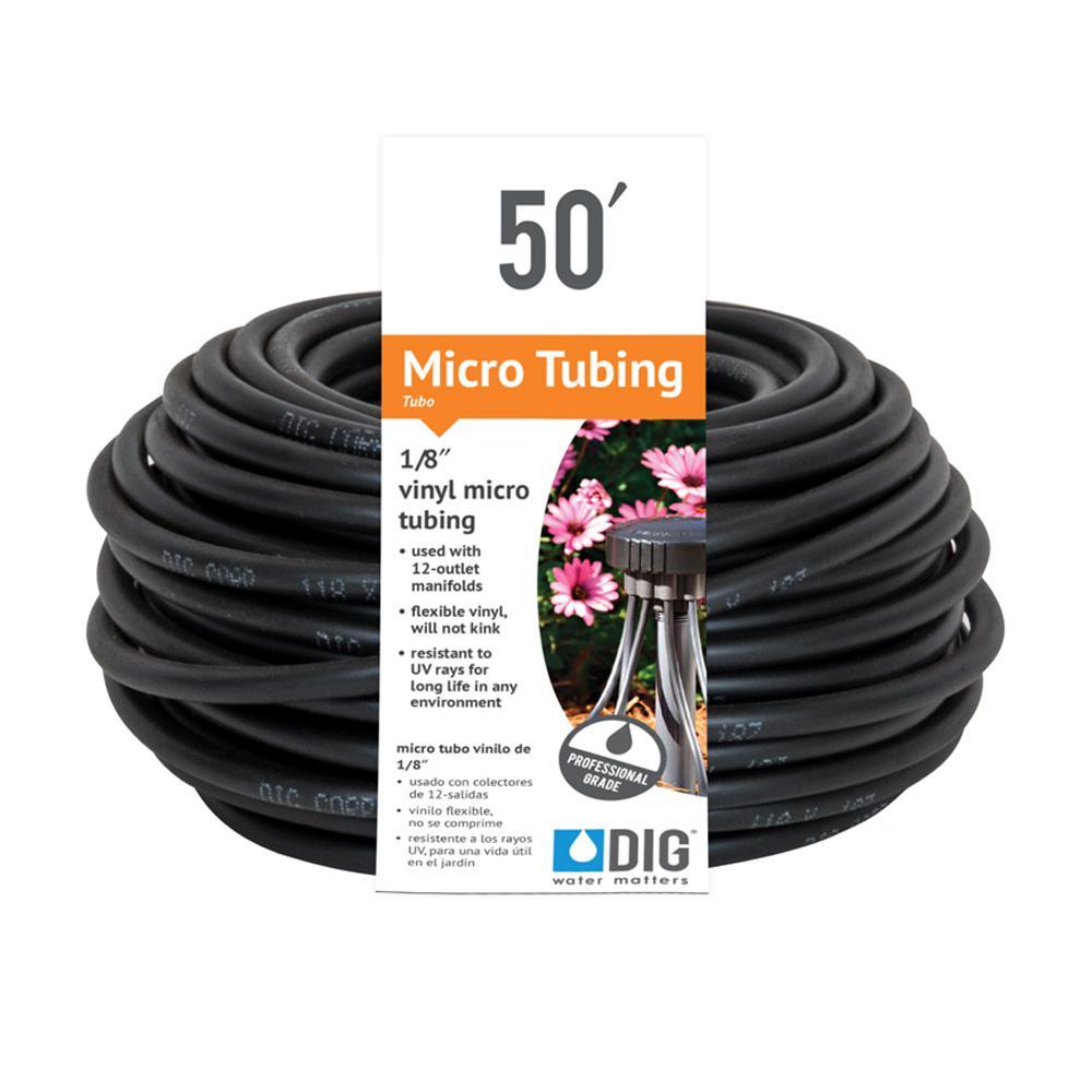 DIG 1/8 in. x 50 ft. Vinyl Micro Drip Tubing